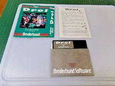 DROL - APPLE II GAME - 1983 BRODERBUND SOFTWARE