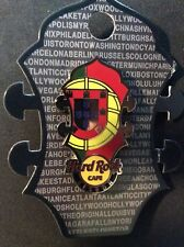 HARD ROCK CAFE LISBON HEADSTOCK FLAG PIN