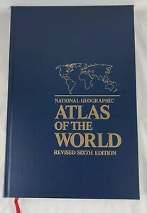 National Geographic Atlas of the World Revised Sixth Edition Large 18 x 12