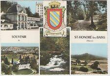 58 - Souvenir de Saint Honoré les Bains - multivues - blason
