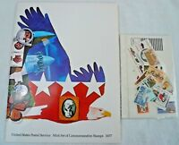 Sealed 1977 Mint Set Commemorative Collection Yearbook USPS Album with Stamps