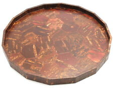 "1x Japanese 12"" Sakura Bark Cherry Bark wood tray #270-075"