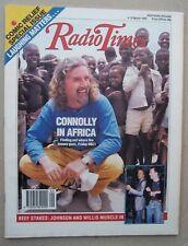Radio Times/1989/Billy Connolly/Comic Relief/Baldrick/Glenn Close/Bruce Willis/