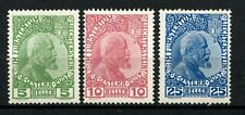 Liechtenstein 1912 SG # 1-3 Prince John II MH set #a 47976