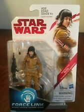 Star Wars The Last Jedi 3.75-Inch Figure Force Link Resistance Tech Rose Sealed