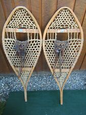 "SNOWSHOES 43"" Long x 16"" Wide with Leather Bindings"