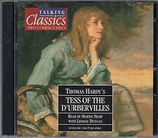 Thomas Hardy Tess Of The D'Urbervilles 2CD Audio Book Talking Classics FASTPOST