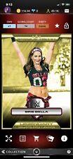 Topps WWE Slam Platinum Series Gold Brie Bella Digital Card