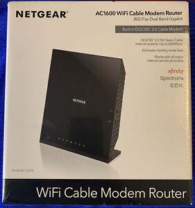 NETGEAR C6250 1600Mbps 2-Ports Gigabit Wireless Modem Router (C6250) DOCSIS 3.0
