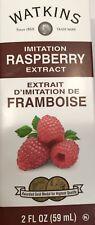 Watkins Raspberry Extract Imitation 2 oz 59 ml USA Fresh Non Gmo Gluten Free