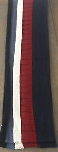 GapKids Boy's Wool Scarf Blue/Navy/Red/Cream