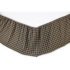 Country Curtains Homespun Bed Skirt / Sham Queen