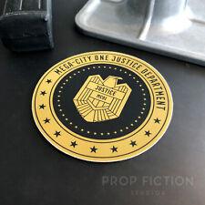 Dredd - Prop Mega-City One Justice Dept. Vehicle Sticker / Set Dressing Decal