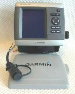 GARMIN GPSMAP 440 CHART PLOTTER MARINE GPS NAVIGATION BUNDLE w POWER MOUNT COVER