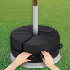 More details for sand bag weights outdoor parasol umbrella tent base stand patio garden sunshade