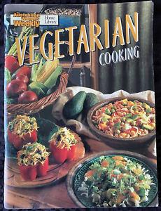 Women's Weekly - VEGETARIAN COOKING - Cookbook Recipes Magazine  Vintage - SC