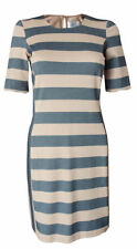 Stripes Regular Dresses for Women with Smocked