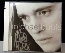 Michael Bublé MICHAEL BUBLÉ, Autographed CD, Reprise PROMO (2003) Enhanced CD