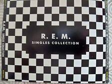 "R.E.M. ""SINGLES COLLECTION"" RARE 4CDS SET JAPANESE EDITION INCL OBI AND LYRICS"