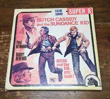 New listing Butch Cassidy and the Sundance Kid, Vintage Super 8 Film, Ken Films