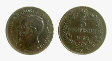 pcc2131_18) Vittorio Emanuele II  (1861-1878) 5 Centesimi 1862 N