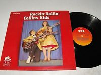 The Collins Kids  Rockin' Rollin'  Bear Family Records BFX 15074  CBS Special
