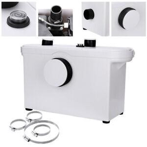 Hebeanlage Fäkalienpumpe Waschbecken Kellern Toilette 600W Schmutzwasserpumpe