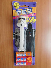 STAR WARS 1999 PEZ CANDY DISPENSER NEW IN PACKAGE LUKE 3-CPO R2D2