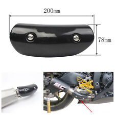 Exhaust Middle Link Pipe Heat Shield Protect Cover Heel &Thigh Guard Avoid Scald