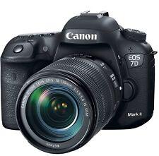 Canon EOS 7D Mark II 20.2MP Digital SLR Camera - Black (Kit w/ EF-S 18-135mm)
