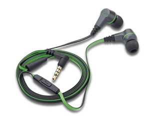 Magnat LZR 340 High-Performance In-Ear Headset, Kopfhörer, schwarz/grün