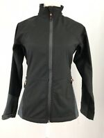 "Icewear Iceland Soft Shell ""Erna"" Black Zip Up Jacket Women's Sz X-Small EUC"