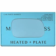 Right side Blue Wing mirror glass for Subaru Legacy 94-03 heated +plate