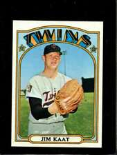 1972 TOPPS #709 JIM KAAT NM TWINS NICELY CENTERED  *X6865