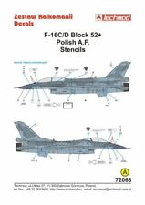 Techmod 1/72 Lockheed-Martin F - 16C/D Pochoirs # 72068
