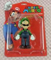 """Nintendo Luigi 5"""" Action Figure Collection Collectible Super Mario Banpresto"""