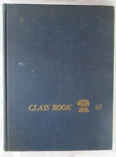 YALE UNIVERSITY CLASS BOOK 1961