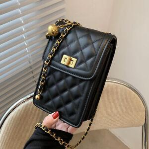 Women Mini Handbag PU Leather Shoulder Bag Messenger Hobo Bag Satchel Purse Tote