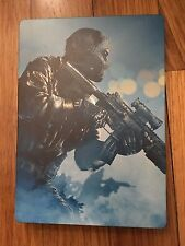 Call of Duty: Ghosts (Microsoft Xbox 360, 2013) STEELBOOK CASE, NO GAME