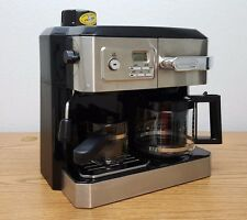 Delonghi BCO330T Programmable Combination Coffee Espresso Latte Cappuccino Maker