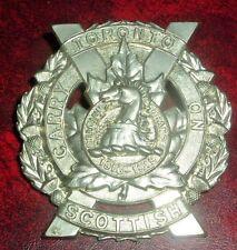CAP BADGES-CANADIAN WW2 TORONTO SCOTTISH