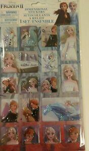 Frozen 2 3D Puffy Stickers Princess Elsa Disney