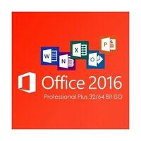 Microsoft Office 2016 Professional Plus✔1 PC✔Vollversion✔NEU✔PRO✔Sofort Email !!