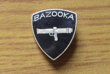 Medal Brooch Pins Bazooka Glazed years'70 Militaria subalpine