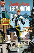 Deathstroke the Terminator 10 Marv Wolfman Nichols Perez 1st New Vigilante NM