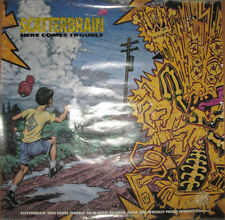 SCATTERBRAIN Here Comes Trouble promo poster, 1990, 24x34, VG, thrash metal