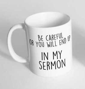 IN MY SERMON Ceramic Cup Gift Tea Coffee Mug 123