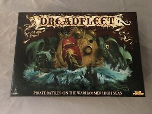 Pro painted WARHAMMER Dreadfleet Limited Edition Board Game OOP