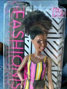 Barbie Fashionista African American Doll #135 NEW