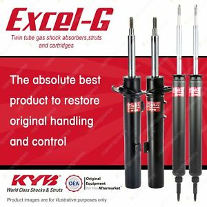 Front + Rear KYB EXCEL-G Shock Absorbers for BMW E92 320D 323i 325i 330D Coupe